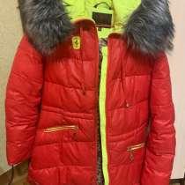 Продам зимний пуховик, в Красноярске