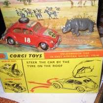 Модель А/М Фольксваген ЖУК из серии Corgy Toys/ Англия, в Москве