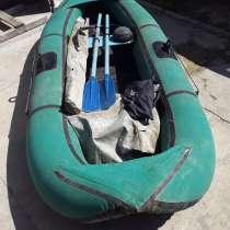 Лодка надувная 2-х местная в комплекте (2- весла, насос, в Анапе