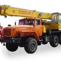 Автокран услуги, в Рязани
