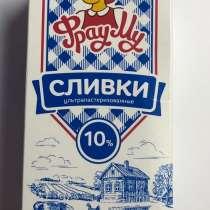 СЛИВКИ ФРАУ МУ 10% 1л, в Москве