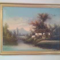 Картина антикварная, в Долгопрудном