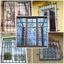 Кованые решетки на окна, в г.Макеевка