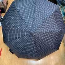 Мужской зонт в клетку Robin, в Москве