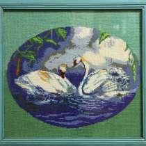 Картина белых лебедей, в г.Славутич