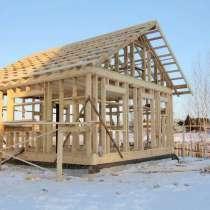 Строительство каркасных домов и бань под ключ, в Ивантеевка