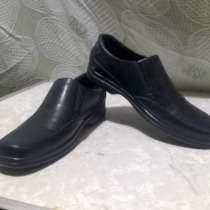 Ботинки мужские кожаные б/у размер 40, в Владимире