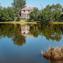 Продам живописный участок с домом в деревне Уваровское, в Боровске