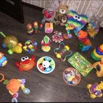 Много развивающих игрушек пакетом, в Краснодаре