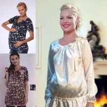 Блузы атласные для беременных новые, в Москве
