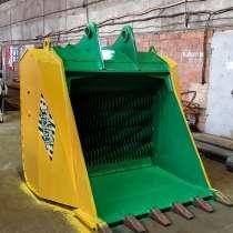Просеивающий валково-дробильный ковш производство Россия, в Екатеринбурге