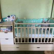 Детская кровать трансформер с маятником, в Севастополе