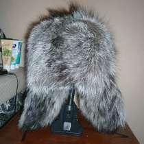 Продам новую шапку-ушанку из чернобурки, в Югорске