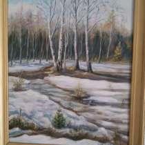 Картина маслом, в Иркутске