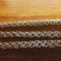 Цепочка и браслет серебренные новые, в Майкопе