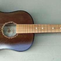 Акустическая гитара с пирографией, в Ижевске