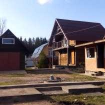Продам участок с зимним домом баней и гаражом, в Выборге