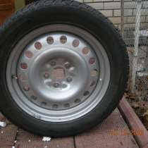 Продам 2-ве всесезонны шины Marshal на новых стальных дисках, в г.Одесса