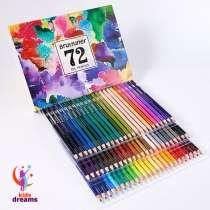 Профессиональный набор масляных карандашей Brutfuner 72 цв, в г.Ташкент