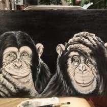 Картина обезьяны, в Кирове