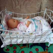 Кукла с кроваткой, в г.Могилёв