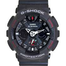 Часы Casio G-SHOCK GA-120-1A. В идеальном состоянии, полный, в Белгороде