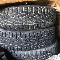 Продам колёса б/у зимние шипованные, в Вологде