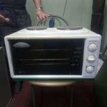 Продается компактная электроплита с духовкой, в Екатеринбурге