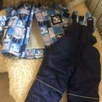 Продаётся зимний комбинезон мальчик, в Иркутске