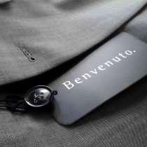 Серый костюм, пр-во Германия, 100% вискоза, продаю, в Санкт-Петербурге