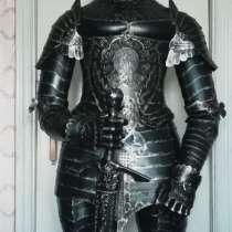Рыцарь средневековья - скульптура из металла, в Краснодаре