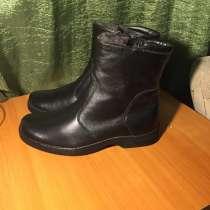Продам сапоги мужские, в Новосибирске