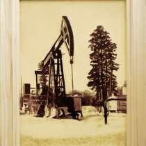 Картина-сувенир нефтью, в Москве