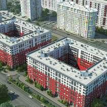 1-к квартира 41,5 м2 в Адмиралтейском районе, в Санкт-Петербурге