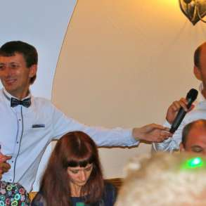 Ведущий-тамада, певец+DJ на свадьбу юбилей корпоратив Курск, в Курске