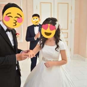 ШИКАРНОЕ Свадебное ПЛАТЬЕ, в г.Актобе