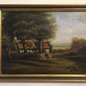 Антикварная картина, в Долгопрудном