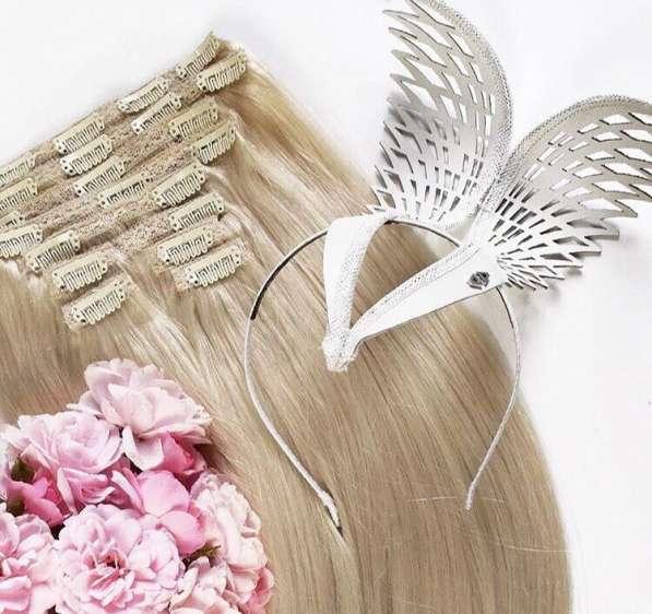 Волосы на заколках для наращивания! Челябинск