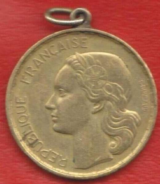 Жетон-подвеска 20 франков 1952 г. Франция