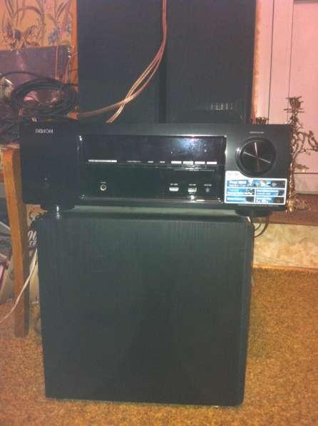 Продам Hi-Fi аудиосистему MONITOR AU 5.1 с рес DENON 1713