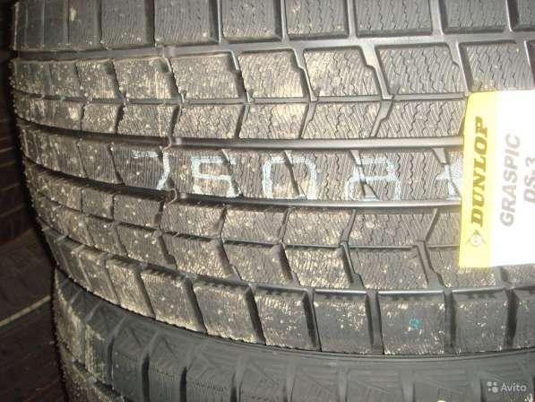 Новые липучки Dunlop 215/70 R15 Graspic DS3 98Q