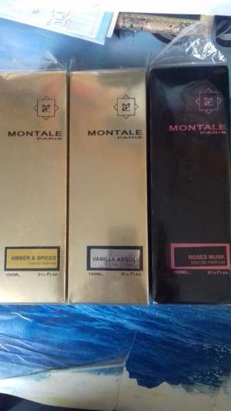 Montale Roses musk, Amber spies, Vanille ab100 мл
