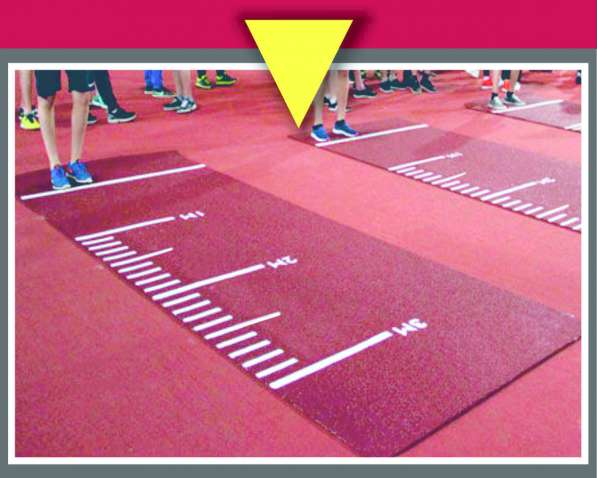 Дорожка спортивная для прыжков в длину с места (ГТО)