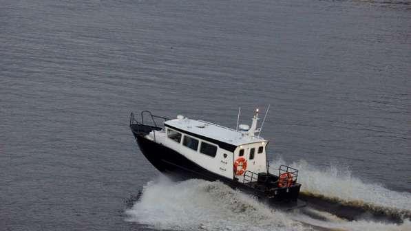 Новый морской катер Баренц 900 в Архангельске фото 14