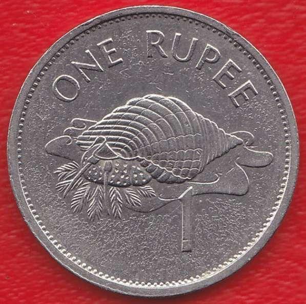 Сейшельские острова 1 рупия 1995 г. немагнитная Сейшелы