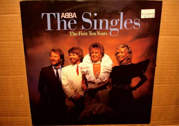 ABBA ‎– The Singles (The First Ten Years)