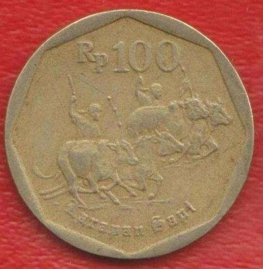 Индонезия 100 рупий 1998 г.