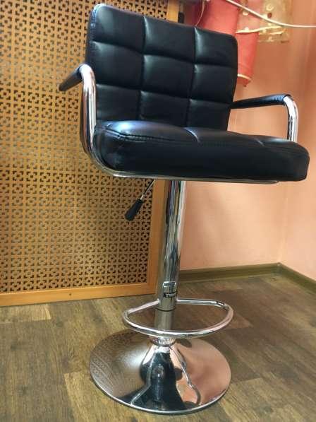 Кресла барные черные