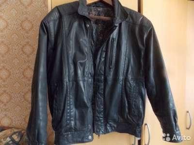 куртка кожаная 48 размера