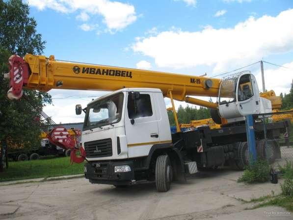 Аренда Автокранов 14-70 тонн в Лыткарино ( Частник) в Лыткарино